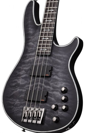 Schecter Hellraiser Extreme-4 4-String Electric Bass Guitar, 24 Frets, Thin C Shape Neck, Ebony Fretboard,1909-SHC - The Guitar World