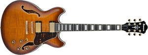 Ibanez Artcore Expressionist AS Semi Hollow Body Guitar IN Violin Sunburst AS93FM-VLS