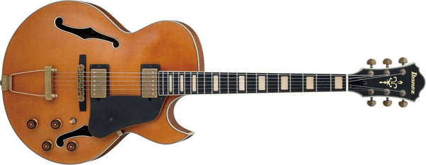 Ibanez Artcore Expressionist Vintage AKJ Hollow Body Guitar IN Dark Amber Low Gloss - The Guitar World