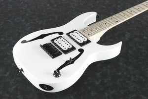 Ibanez Paul Gilbert miKro Electric Guitar - White