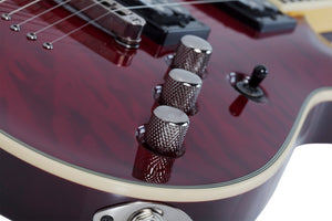 Schecter Omen Extreme-7 String Electric Guitar – Black Cherry 2008-SHC - The Guitar World