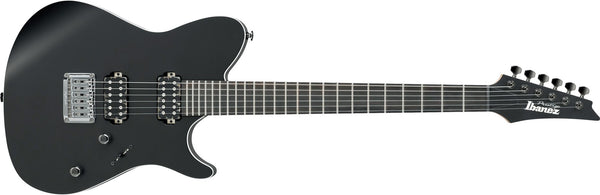 IBANEZ FR6UCS-BKF PRESTIGE UPPERCUT WITH HARD SHELL CASE - BLACK FLAT