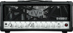 EVH 5150III 50W 6L6 Head in Black, 120V