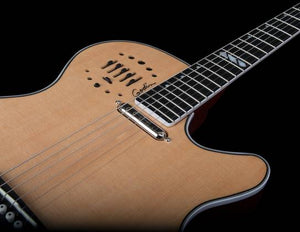 Godin 047895 Multiac Steel Natural HG 6 String RH Acoustic Electric Guitar w/ Tric Case - The Guitar World