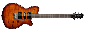 GODIN xtSA IN LIGHBURST FLAME - The Guitar World