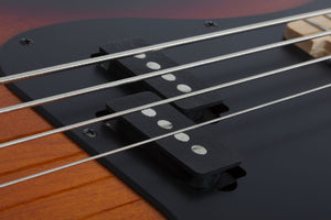 Schecter P-4 Electric Bass in 3-Tone Sunburst 2921-SHC - The Guitar World