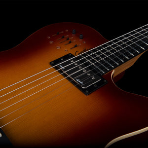 GODIN A6 ULTRA IN COGNAC BURST HG - The Guitar World