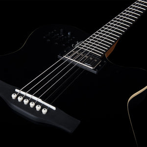 GODIN A6 ULTRA IN BLACK HG - The Guitar World