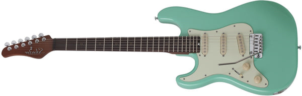 Schecter Nick Johnston Traditional Ebony Fingerboard Left-Handed Atomic Green Item 307-SHC - The Guitar World