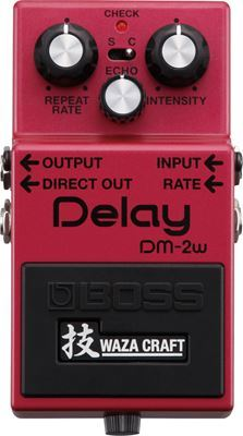 Boss DM-2W Waza Craft Analog Delay Pedal - The Guitar World