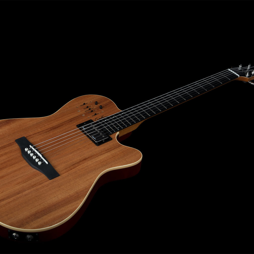 Godin A6 Ultra Semi-acoustic Electric Guitar Natural New Reputation First Musical Instruments & Gear