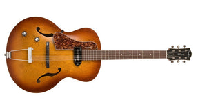 Godin 5th Avenue Kingpin P90 in Cognac Burst Left-Handed 037728
