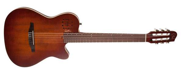 Godin Multiac Nylon Encore Burnt Umber