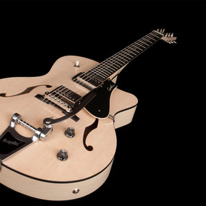 Godin 5th Avenue Uptown GT LTD Trans Cream with Bigsby - The Guitar World