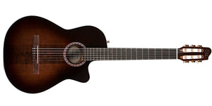 Godin Arena Pro CW Bourbon Burst Crescent II 6 String RH Classical Acoustic Guitar with Bag 049615