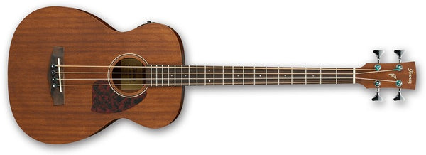 Ibanez Acoustic/Electric Bass Guitar IN Open Pore Natural PCBE12MH-OPN - The Guitar World