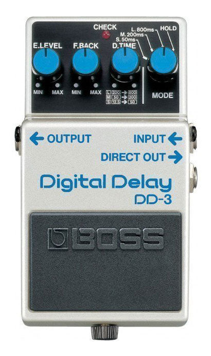 Boss DD-3 Digital Delay Pedal - The Guitar World