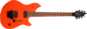 EVH Wolfgang WG Standard, Baked Maple Fingerboard in Neon Orange