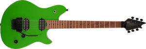 EVH Wolfgang WG Standard, Baked Maple Fingerboard in Slime Green