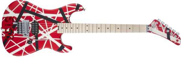 EVH STRIPED SERIES 5150 RED, BLACK, WHITE 5107902515