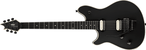 EVH Wolfgang USA Electric Guitar with Case in Stealth Black Left-Handed