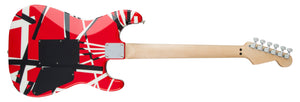 EVH Striped Series Red, Black and White Electric Guitar Left-Handed