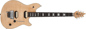 EVH Wolfgang USA Electric Guitar with Ebony Fingerboard and 5A Flame Top in Natural