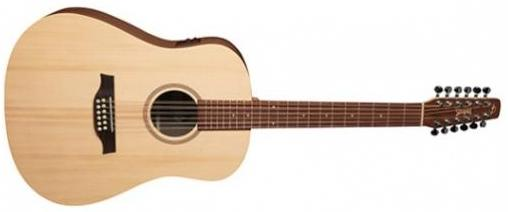 SEAGULL WALNUT 12 STRING ACOUSTIC ELECTRIC ISYS T 039197