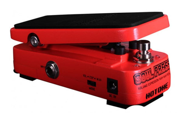 Hotone SP-10 Soul Press WAH/Volume/Expression Multi-Functional Guitar Pedal - The Guitar World