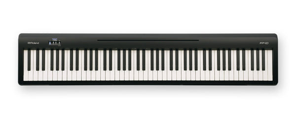 Roland FP-10 Portable Digital Piano with Speakers Black - The Guitar World