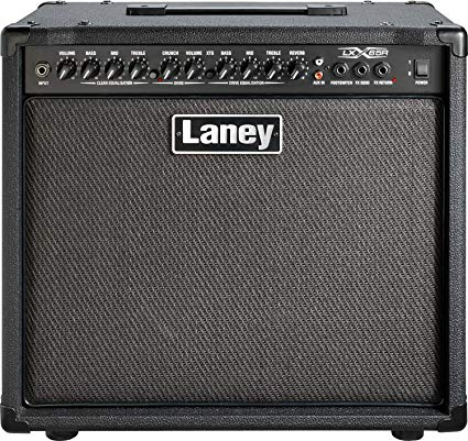 Laney LX65R 65 Watt 1x12 Guitar Combo Amp Black