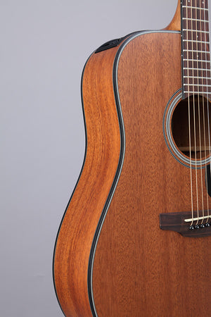 Takamine All-Mahogany Dreadnought Acoustic-Electric w/ Cutaway GD11MCE-NS - The Guitar World