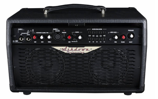 "Ashdown Engineering 50W 2 x 5"" Acoustic Combo Amp AA-50-R - The Guitar World"
