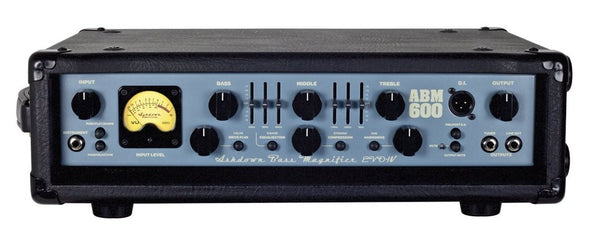 Ashdown Engineering EVO IV 600-Watt Bass Head ABM-600-EVO-IV - The Guitar World