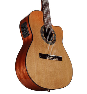 ALVAREZ ARTIST AC65CE ARTIST 65 SERIES CLASSIC ELECTRIC IN NATURAL GLOSS FINISH - The Guitar World