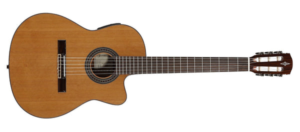 ALVAREZ ARTIST AC65HCE ARTIST 65 SERIES CLASSICAL HYBRID ELECTRIC IN NATURAL GLOSS FINISH - The Guitar World