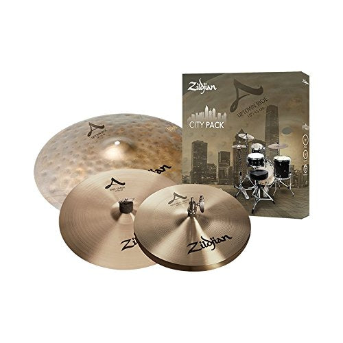 Zildjian A City Pack Cymbal Set ACITYP248 - The Guitar World