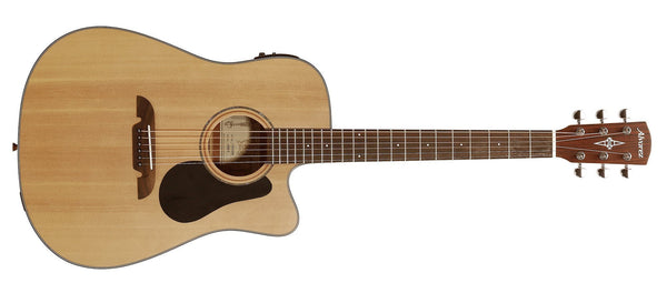 ALVAREZ AD30CE ARTIST 30 SERIES DREADNOUGHT ELECTRIC, NATURAL SATIN FINISH - The Guitar World