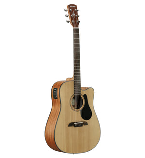 ALVAREZ AD30CE ARTIST 30 SERIES DREADNOUGHT ELECTRIC, NATURAL SATIN FINISH