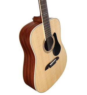 ALVAREZ ARTIST AD60-12 ARTIST 60 SERIES DREADNOUGHT 12-STRING, NATURAL GLOSS FINISH