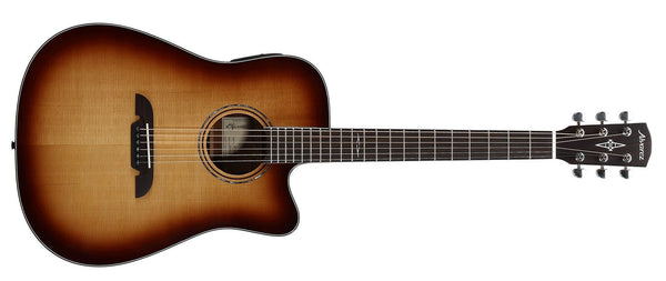 ALVAREZ ARTIST AD60CESHB ARTIST 60 SERIES DREADNOUGHT ELECTRIC, SHADOWBURST GLOSS FINISH - The Guitar World