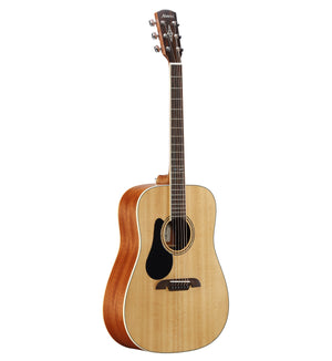 ALVAREZ ARTIST AD60L ARTIST 60 SERIES DEADNOUGHT LEFT-HANDED, NATURAL GLOSS FINISH