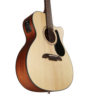 ALVAREZ ARTIST AF30CE ARTIST 30 SERIES FOLK ELECTRIC, NATURAL SATIN FINISH