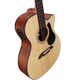 ALVAREZ ARTIST AF30CE ARTIST 30 SERIES FOLK ELECTRIC, NATURAL SATIN FINISH - The Guitar World