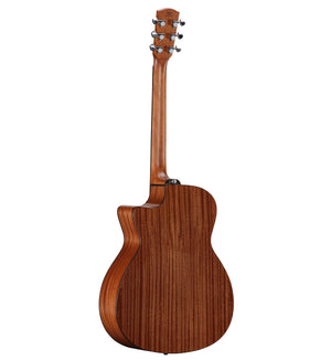ALVAREZ ARTIST AG60CEAR GRAND AUDITORIUM ACOUSTIC ELECTRIC WITH CUTAWAY AND BEVEL EDGE ARMREST, NATURAL GLOSS FINISH - The Guitar World