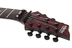 SCHECTER C-7 FR S Apocalypse Red Reign - 3058 - The Guitar World