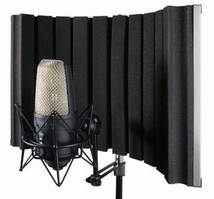 CAD Acousti-Shield 22 - Stand Mounted Acoustic Enclosure- Portable Folding AS22 - The Guitar World