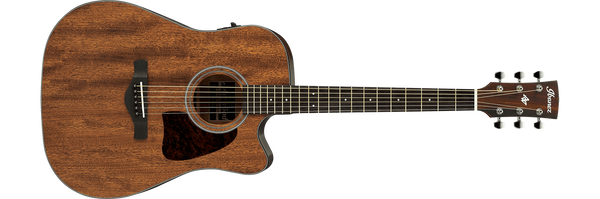 IBANEZ AW54CE-OPN ARTWOD SERIES ACOUSTIC GUITAR - OPEN PORE