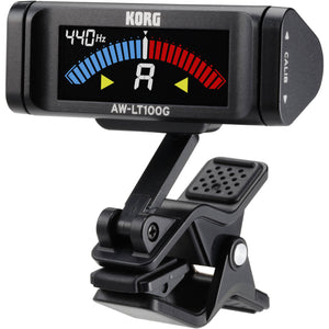 Korg Clip-on Guitar Tuner with Color Display AWLT100G