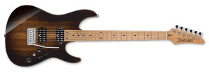 Ibanez AZ Premium Electric Guitar IN Deep Espresso Burst AZ242BC-DET - The Guitar World